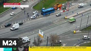 ГИБДД выборочно проверяет автомобили на въезде в Москву - Москва 24