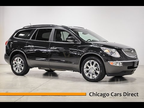 chicago cars direct reviews presents a 2011 buick enclave cxl-2 awd