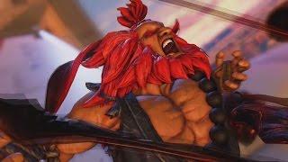 Street Fighter V Akuma Extended Gameplay Trailer