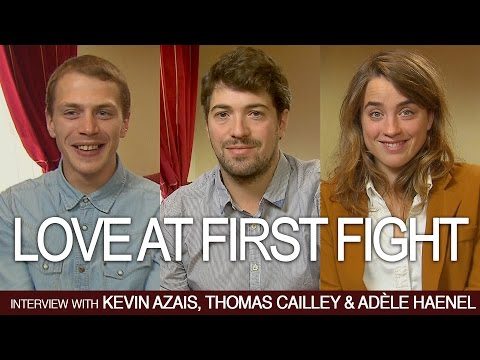 LOVE AT FIRST FIGHT: Interview with the cast and crew