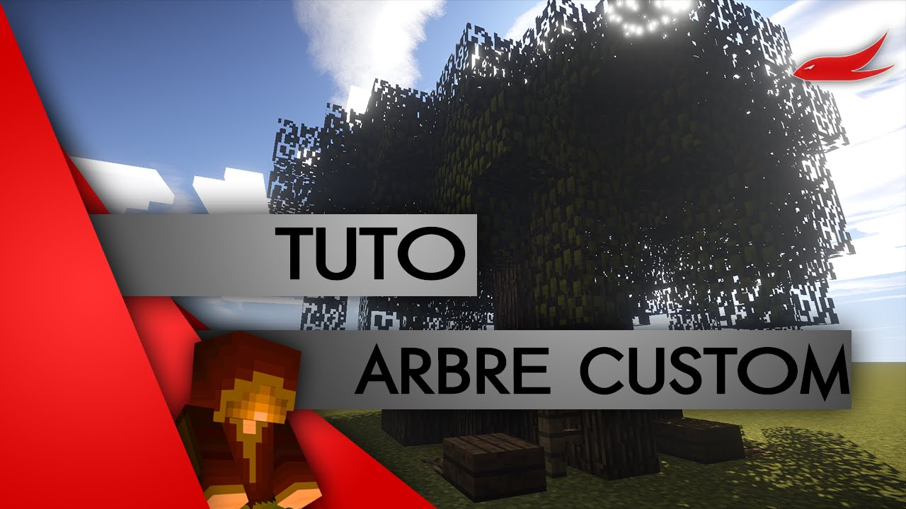 Minecraft tuto construction les arbres customs youtube for Minecraft tuto construction