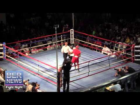 Callon Burns vs Matthew Tannock At Fight Night, April 5 2014