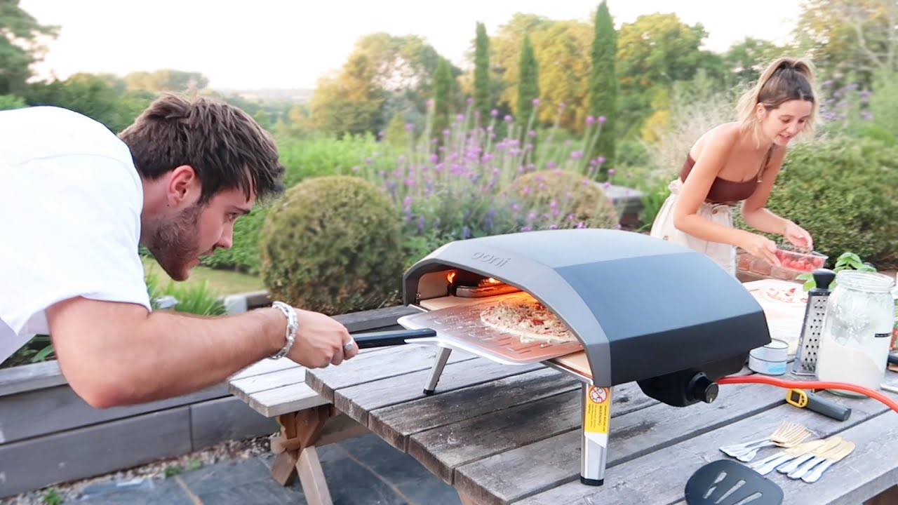 Summer Pizza Evening With Friends