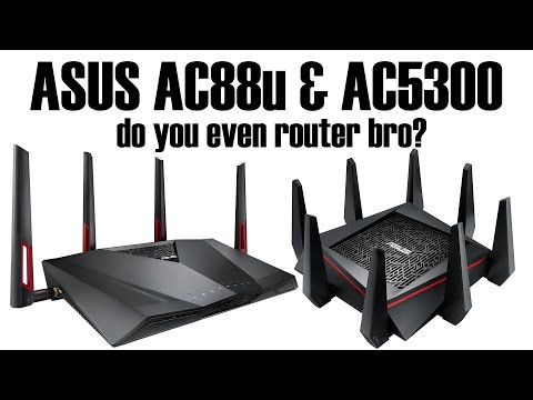 Asus AC5300 & AC88u Wireless Router Review