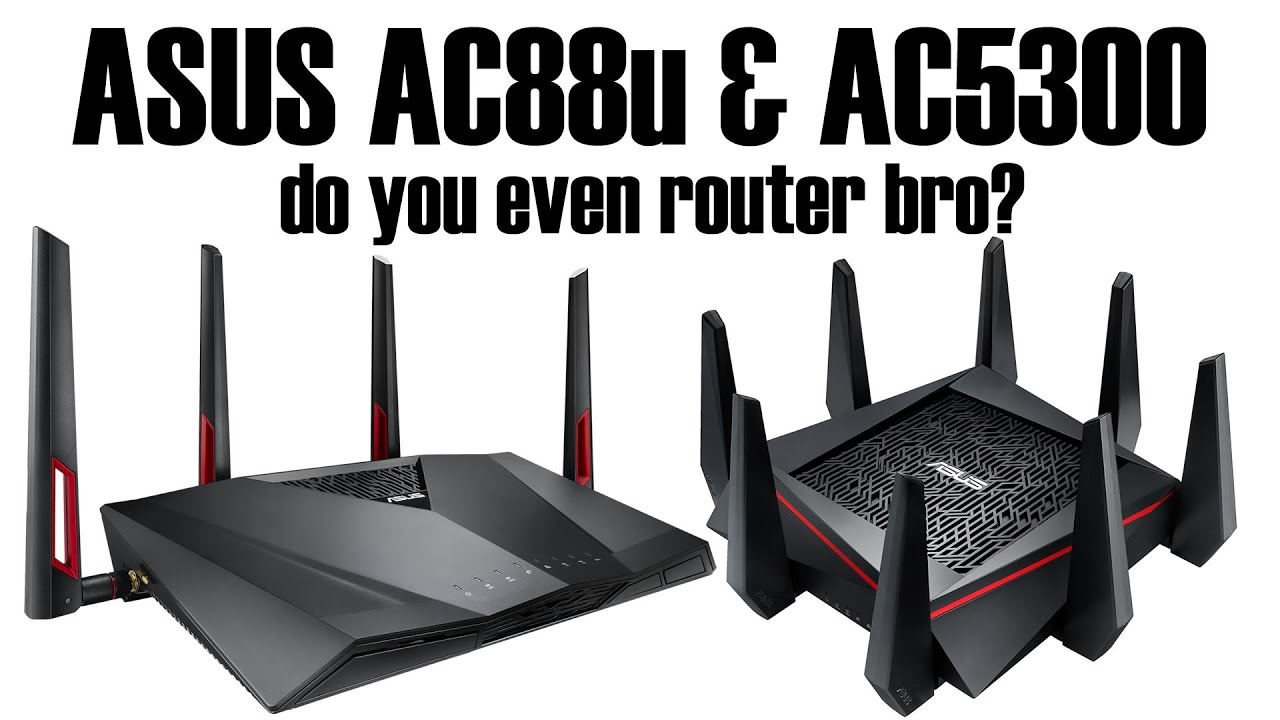 Asus AC5300 & AC88u Wireless Router Review - YouTube