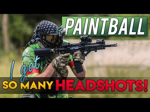 I Got So Many Headshots!  - Paintball Sharpshooter at D-Day (Commando Paintball)