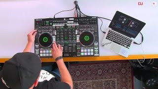Trayze Performs With Roland and Serato's DJ-808 Controller, Part 2