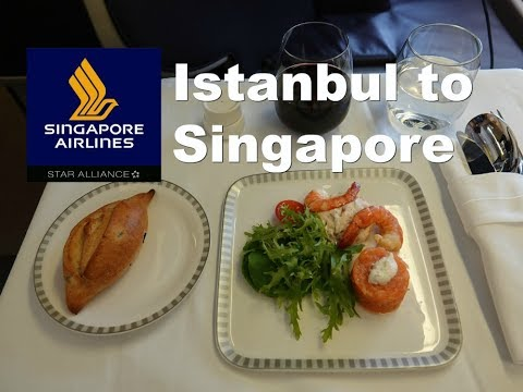Singapore Airlines Business Class - Istanbul to Singapore B777-200er