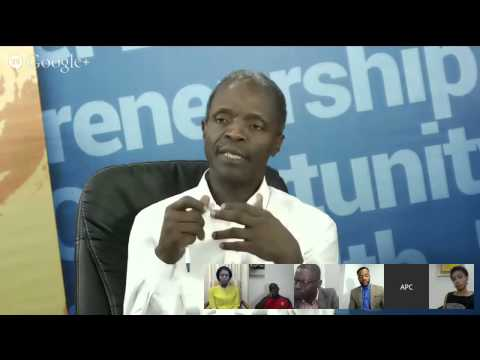 Jobs. What's the APC Plan?: A Google Hangout with Prof. Osinbajo and BRF