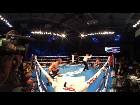 Langford knocked out by Khurtsidze | 360 Virtual Reality Boxing