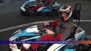 Yvelines | Nous avons testé le karting électrique à Maurepas