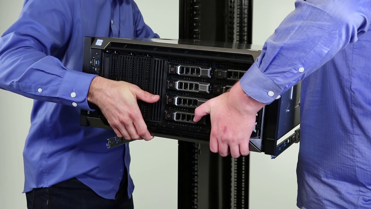 Dell EMC PowerEdge T640: Install into Data Center Rack