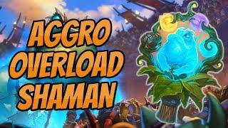 Aggro Overload Shaman | Spirit of the frog is broken! | Hearthstone