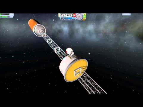 Kerbal Space Program - Abusing Fuel Pumps To Break The Laws Of Physics