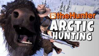 The Hunter - Arctic Hunting - Bison