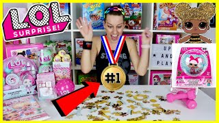 I BEAT THE WORLD RECORD!! Building an LOL SURPRISE PUZZLE IN WORP SPEED! I GOT QUEEN BEE! HACK CODES