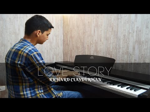 Richard Clayderman - Love Story   Piano Cover + Sheet Music