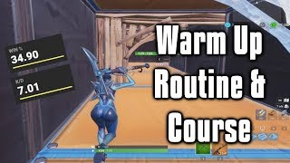 Top 5 Warm Up Courses On Fortnite