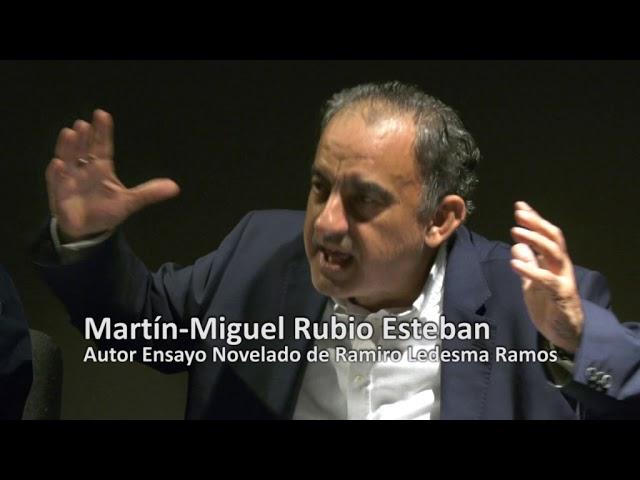 Presentación del libro de Martín-Miguel Rubio Esteban el 18-10-19