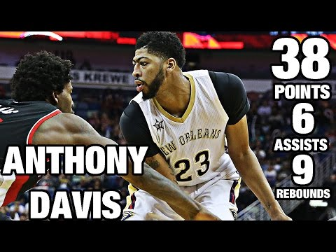 Anthony Davis Gets Buckets vs Trail Blazers | 11.18.16