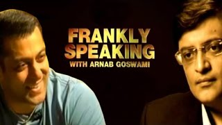 Frankly Speaking With Salman Khan | Full Interview With Arnab Goswami