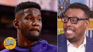 With Deandre Ayton coming back, the Suns are a playoff team - Paul Pierce | The Jump