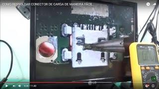 CELULAR NÃO CARREGA COMO TROCAR CONECTOR DE CARGA DE MANEIRA FÁCIL. #Consertodecelular