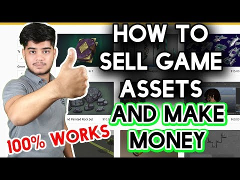 how to sell game assets and make money top 5 website 2018 100% working HINDI