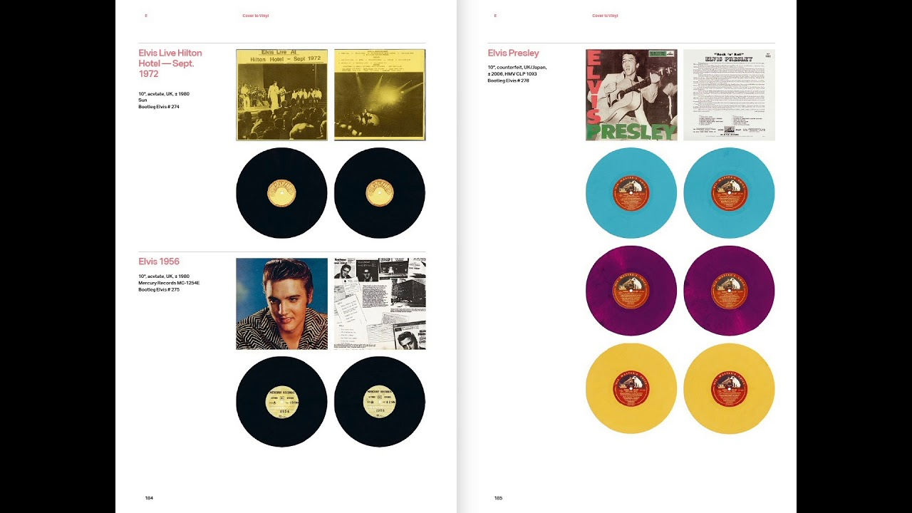 Preview | From Cover to Vinyl | The Artistry of Elvis Bootlegs Book