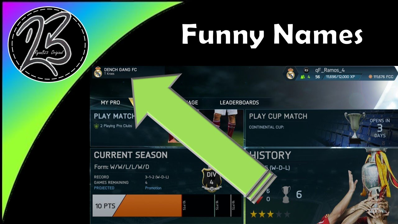 how to change your fut name in fifa 17