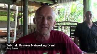 Babareki Business networking events testimonials- Garry Gnapp