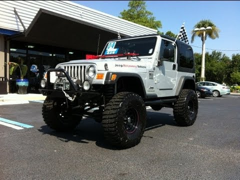 Lovely Autoline Preowned 2004 Jeep Wrangler Sport For Sale Used Walk Around Review  Test Drive Jacksonville