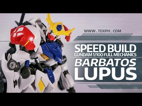 SPEED BUILD Gunpla - Gundam Barbatos Lupus...