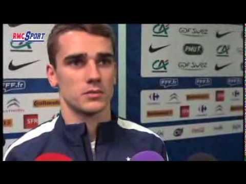 Football / Amical : Griezmann parle de sa première sélection en Bleu - 05/03