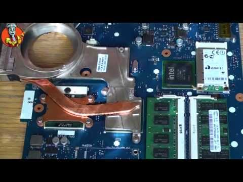 how to disassemble and clean a samsung r580 laptop