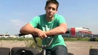 Обучение трюкам на Bmx - How to Bunny Hop Bar Spin.flv
