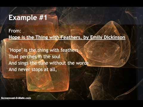 Examples of Metaphor in Poetry