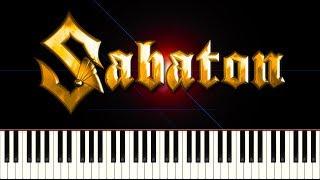 SABATON - THE LAST STAND - Piano Tutorial