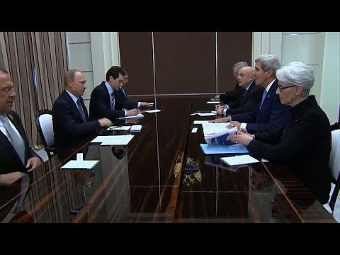 Kerry arrives in Russia to push Putin on Ukraine crisis