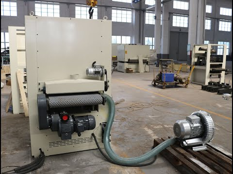 Vacuum Conveyor Veneer Calibrating Sander