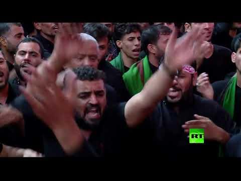 شيعة العراق يحيون ذكرى عاشوراء في كربلاء  - نشر قبل 2 ساعة