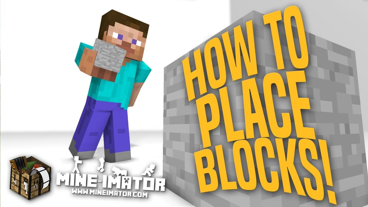 Mine Imator Tutorial How To Place Blocks Part 11