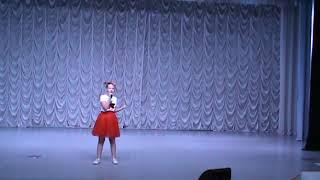 """Красавина Софья, город Краснодар, ДШИ №1, эстрадный вокал,""""Мальчишка джаз""""."""