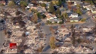 Hatalmas károkat okoznak a kaliforniai tüzek