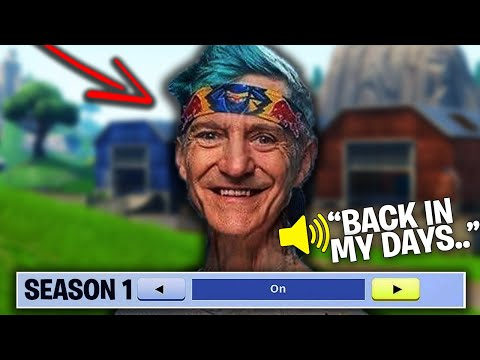 When FORTNITE Was Actually FUN TO PLAY..! (OLD Fortnite Nostalgia)