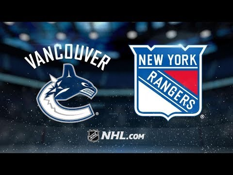 Vancouver Canucks vs New York Rangers | Nov.12, 2018 | Game Highlights | NHL 2018/19 | Обзор Матча