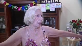 100-year-old belly dancer shakes it like Beyoncé