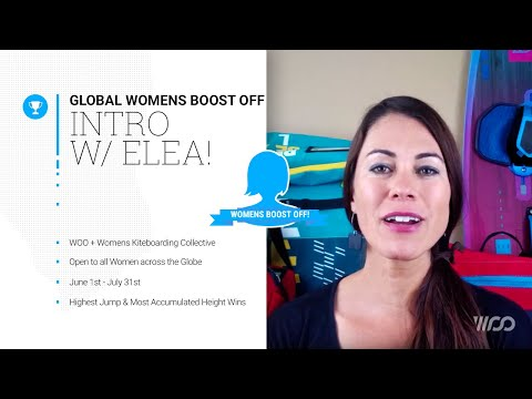 Global Women's Boost Off!! // WOO & Women's Kiteboarding Collective