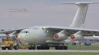 буксировка Ил-976 Жуковский 2017 ZIA