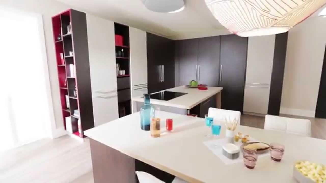 Smart nyt køkken alrum: gem køkkenet væk efter brug   youtube